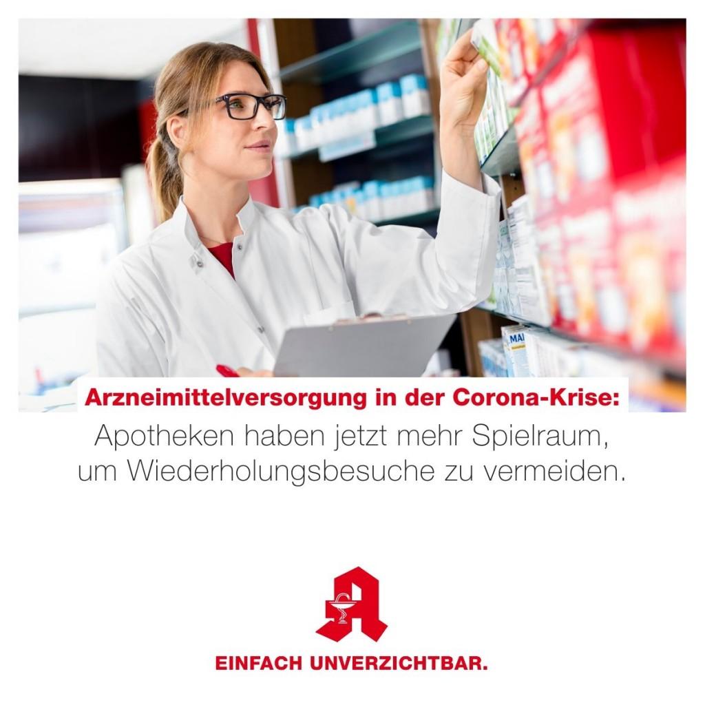 Tipp - Lockerung Arzneimittelausgabe