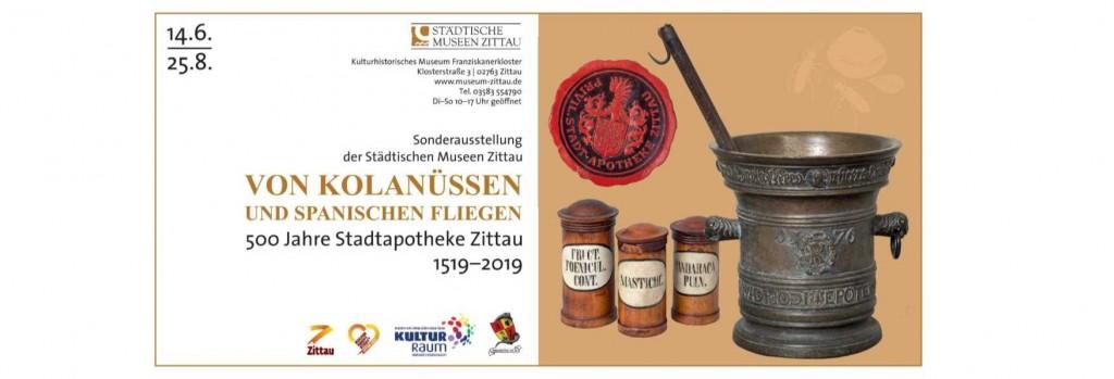 500. Geburtstag der Stadtapotheke in Zittau