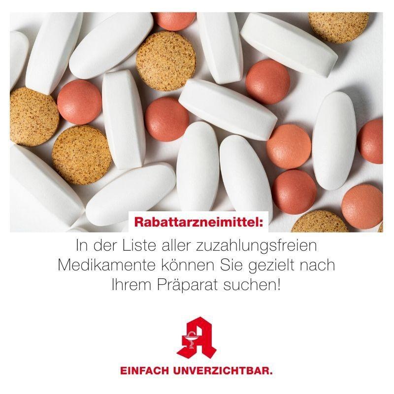 Tipp - Rabattarzneimittel
