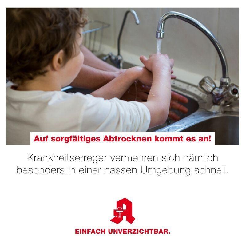 Tipp - Händewaschen