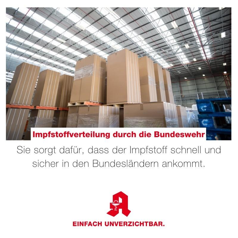 Tipp - Bundeswehr Impfstoffverteilung