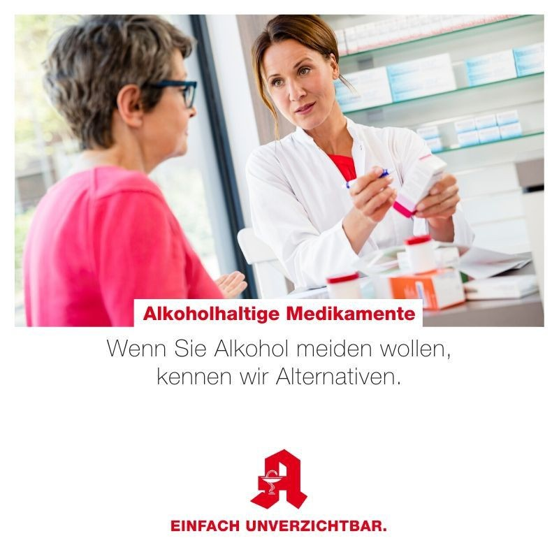 Tipp - alkoholhaltige Medikamente