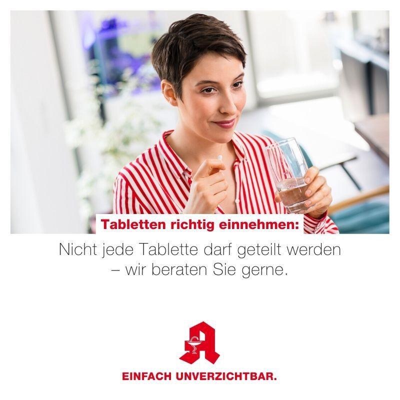Tipp - Tabletten einnehmen