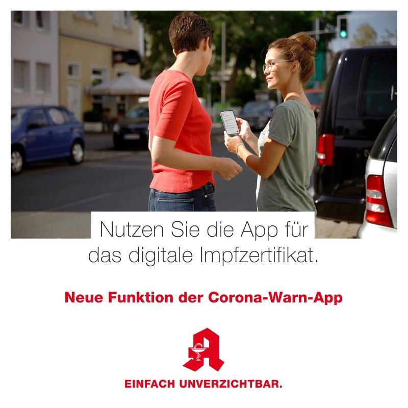 Tipp - Corona-Warn-App 4
