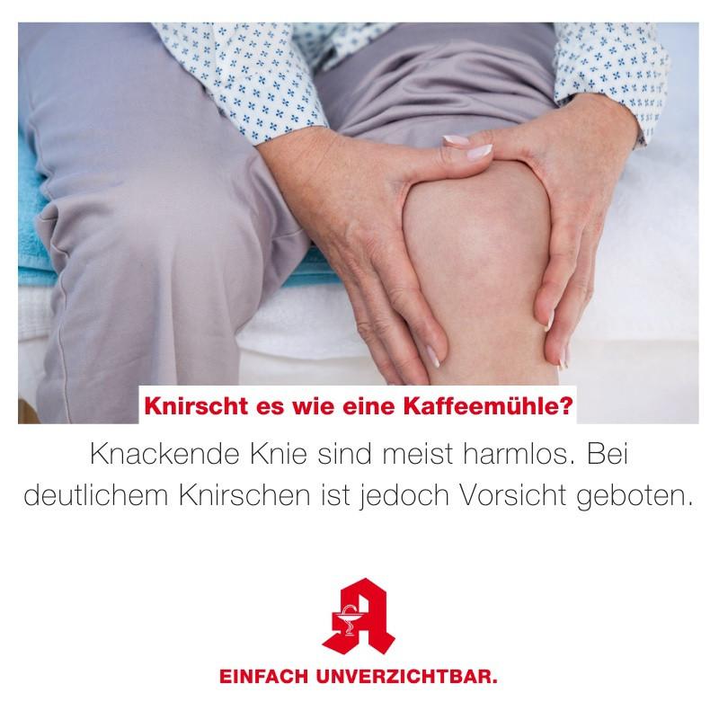 Tipp - Knirschen im Knie
