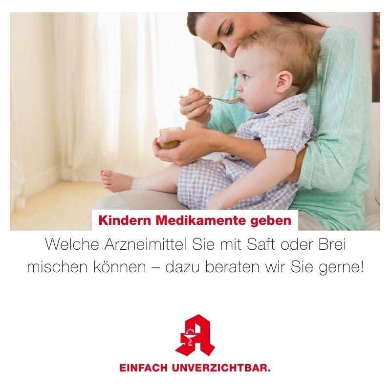 Tipp - Arzneimittelabgabe Kinder