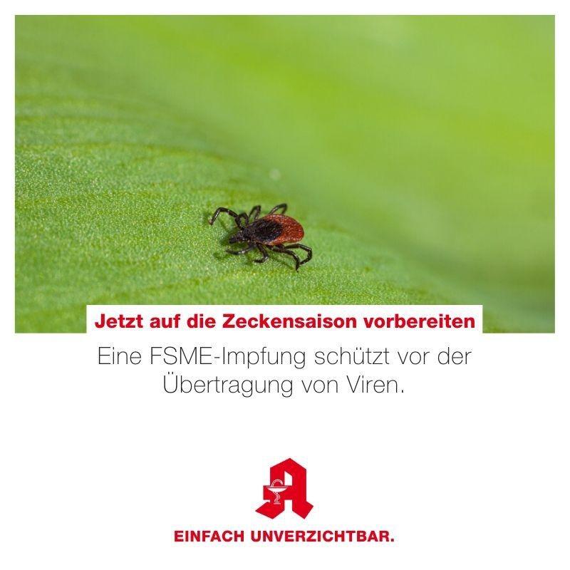 Tipp - FSME-Impfung