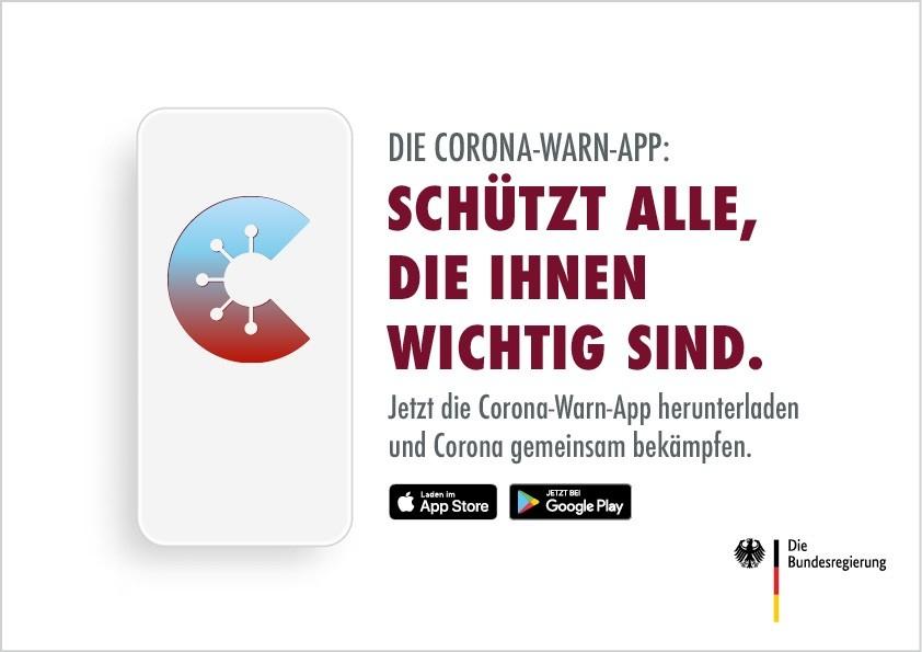 Tipp - Corona-Warn-App