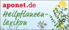 Button Aponet Heilpflanzenlexikon